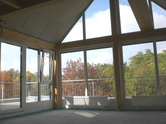 exklusive neubau dach penthouse wohnungen in baienfurt zentral ruhig sonnig aussicht. Black Bedroom Furniture Sets. Home Design Ideas