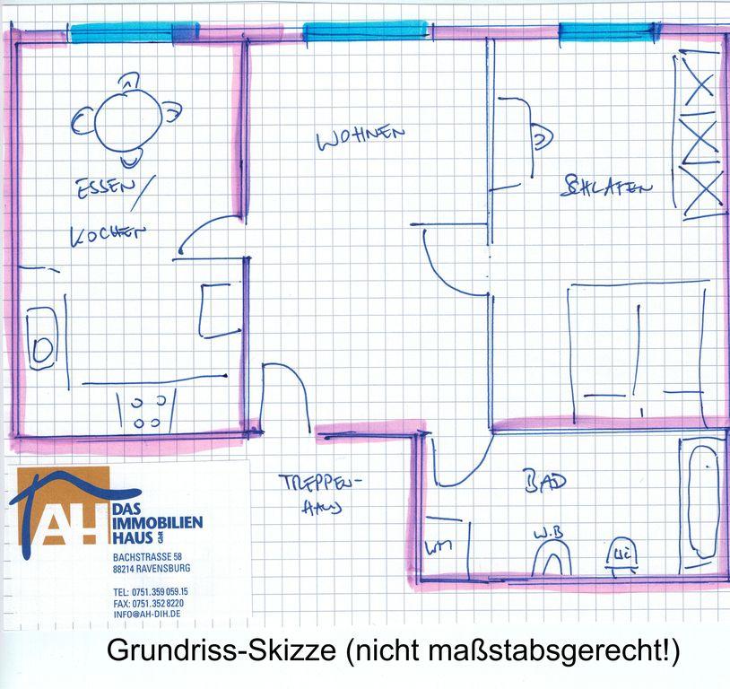 klein einfach aber gem tlich 2 zimmer wohnung in der ravensburger altstadt referenzen. Black Bedroom Furniture Sets. Home Design Ideas