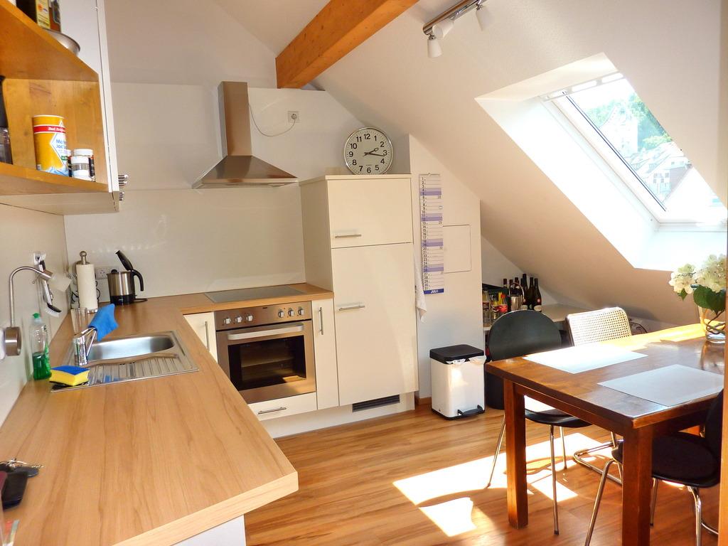 Kochen Essen Wohnen exklusiv wohnen mit dachterrasse in ravensburg hochwertig offen