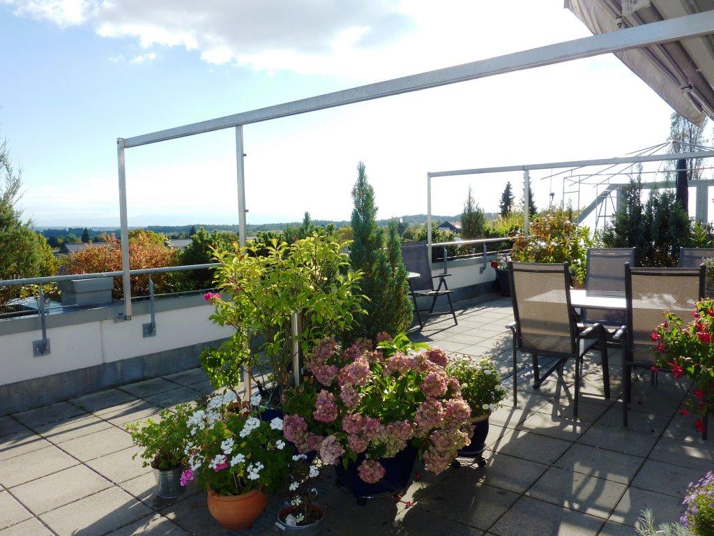 """die perfekte 4 ½ zimmer-penthouse-wohnung - mit großer """"panorama, Wohnzimmer dekoo"""