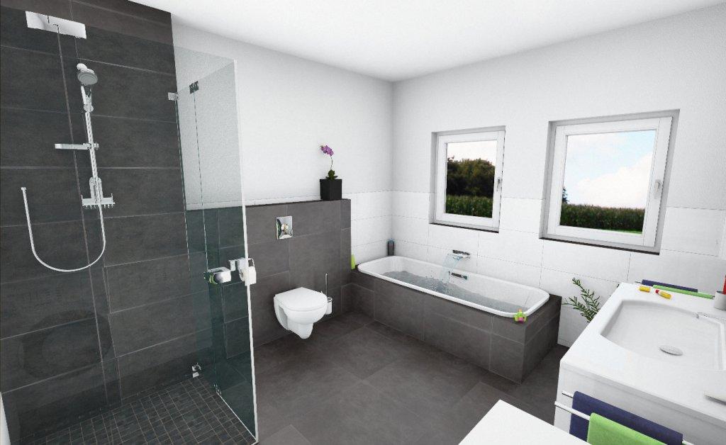moderne wohnanlage mit 6 eigentumswohnungen in 2 h usern in wilhelmsdorf wohnungen ah das. Black Bedroom Furniture Sets. Home Design Ideas
