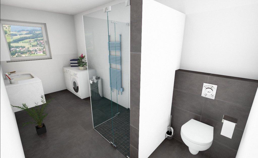 Genial ... Badezimmer Wohnung 4 ...