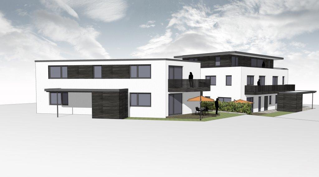 mit eigenem garten 3 zi eg wohnung im 2 fam haus neubau wohnung mit terrasse und garten. Black Bedroom Furniture Sets. Home Design Ideas